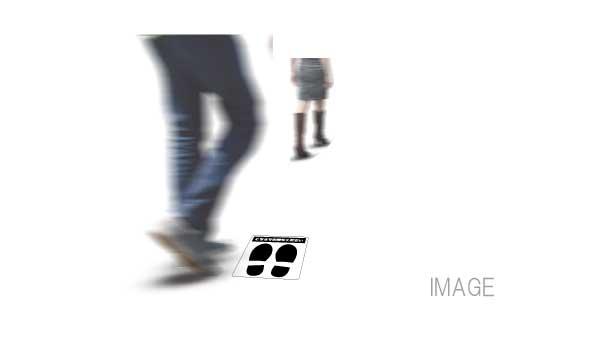 フロアマーキング画像